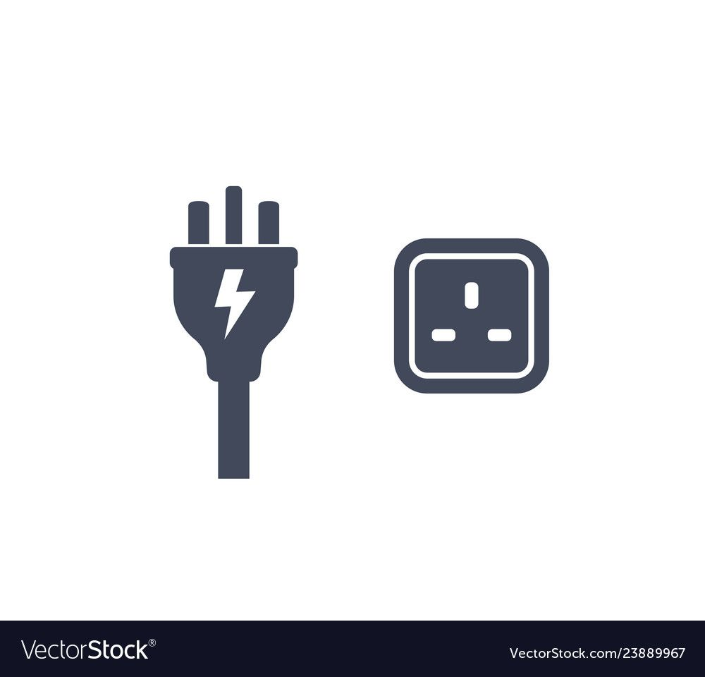 Uk Plug And Socket Icon Royalty Free Vector Image Affiliate Socket Icon Uk Plug Ad Vector Free Pet Shop Logo Business Logo Design