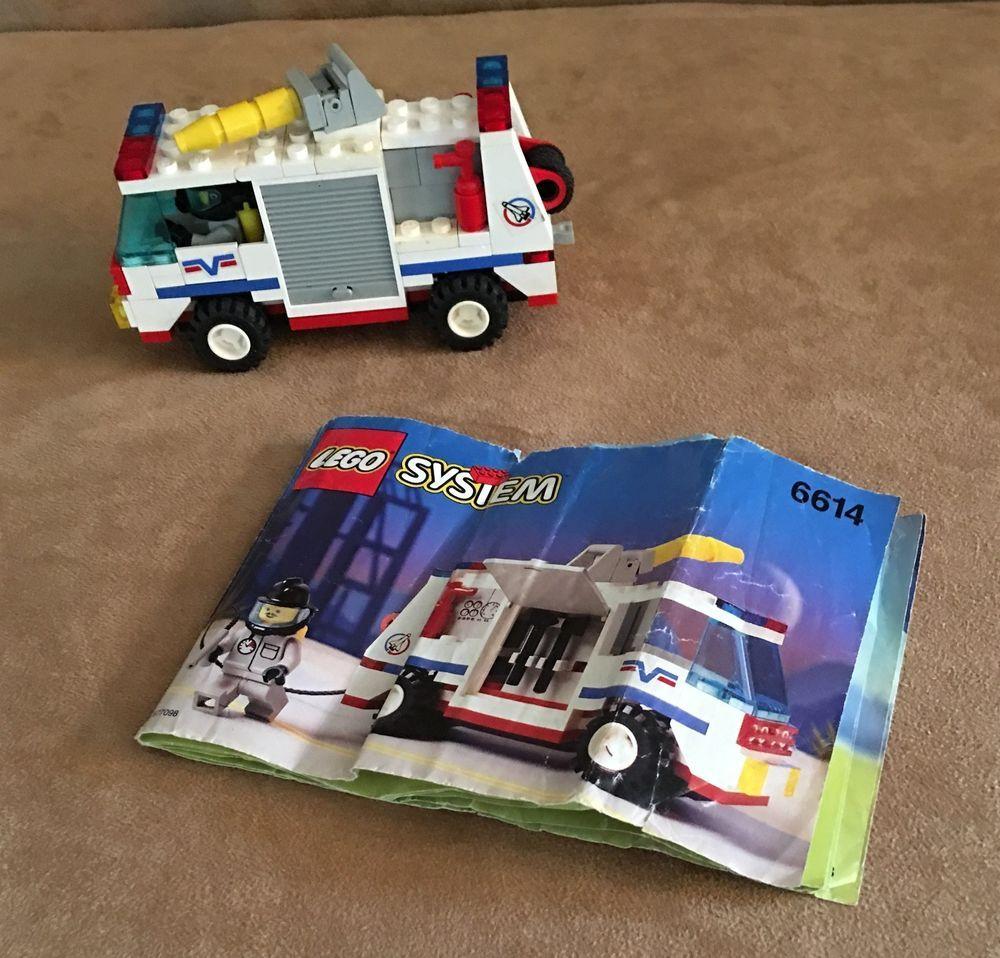 6614 Lego Complete Town Launch Command Launch Evac 1 City Vintage