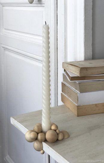 [ DIY ]Un bougeoir minimal en bois - La Délicate Parenthèse | DIY déco et inspiration déco #déco #stayINspired #home
