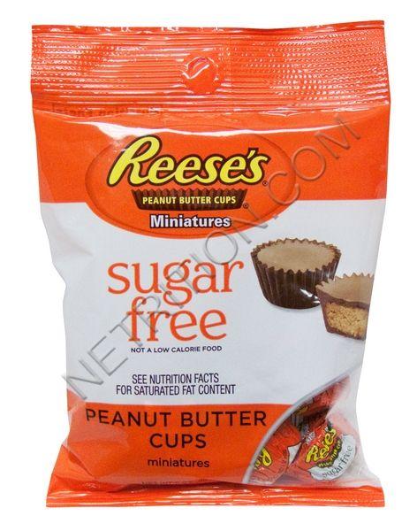 Hershey S Sugar Free Reese S Peanut Butter Cups At Netrition Com Sugar Free Peanut Butter Sugar Free Peanut Butter Cups