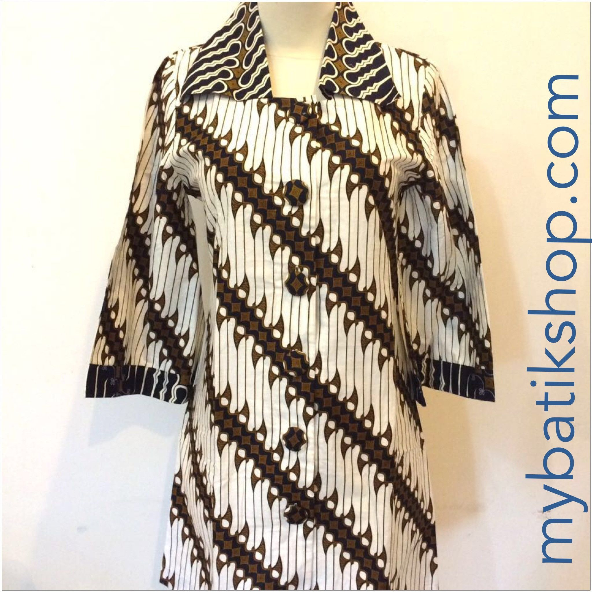 Batik Keris Modern Parang Dress  XS  ati  Pinterest  Batik