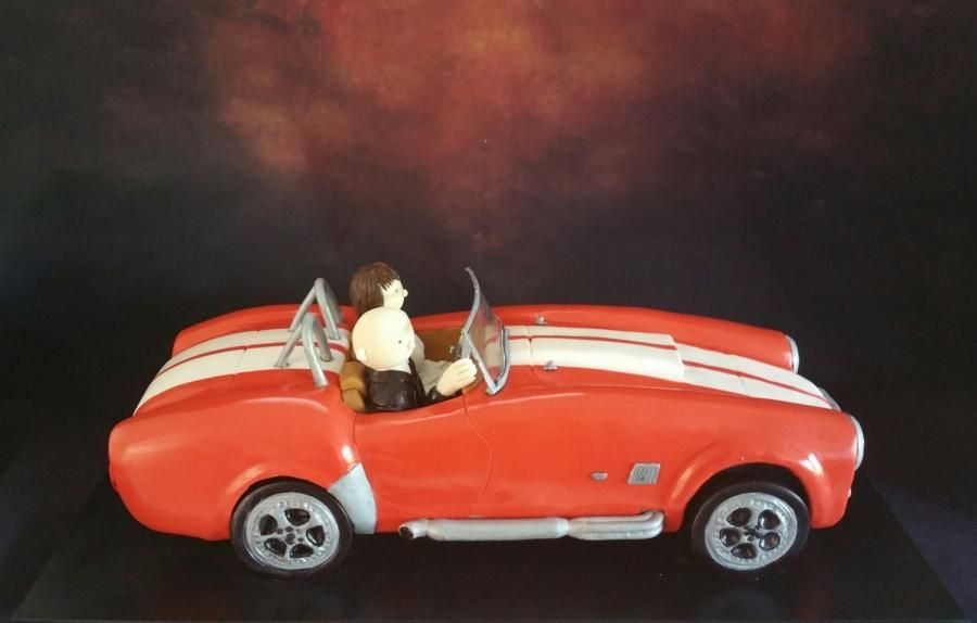 Ford Cobra Cake Cake by Cara Mia Cake boy cake Pinterest Car