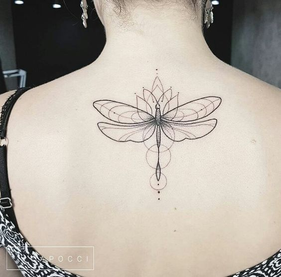 Awesome dragonfly tattoos designs for girls