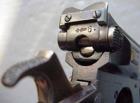 Bergmann No.4 pistol in 8x22mm Bergmann