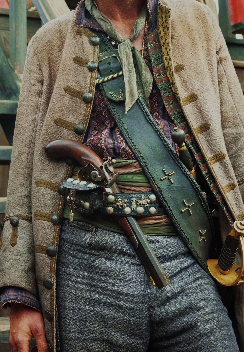 Forth And Fear No Darkness Jack Rackham Wardrobe A K A Jack Rackham Is A Sea Clothes Fantasy Forth In 2020 Pirate Fashion Fantasy Fashion Character Outfits