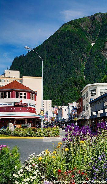 I stood right here in Juneau, Alaska, on Holland America's Amersterdam 2004.Take me back!