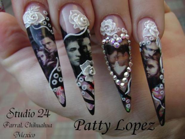Twilight nails nailpro nails pinterest twilight nails nailpro prinsesfo Gallery
