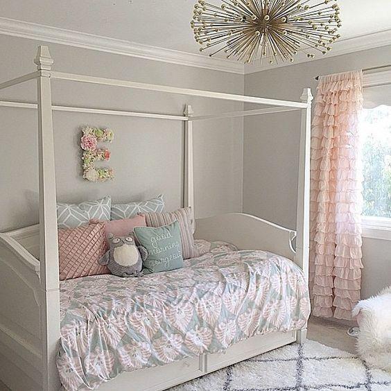 The Best Pure Grey Paint Colors Guide Elizabeth Burns Design Raleigh Nc Interior Designer Girls Rooms Tween Girl Bedroom