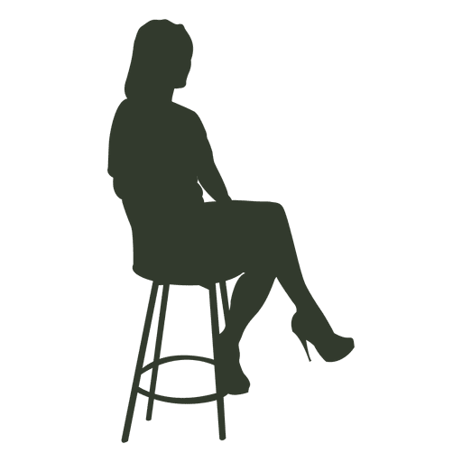 Woman Sitting Chair Waiting Ad Affiliate Ad Sitting Chair Waiting Woman Material Design Background Silhouette Png Silhouette