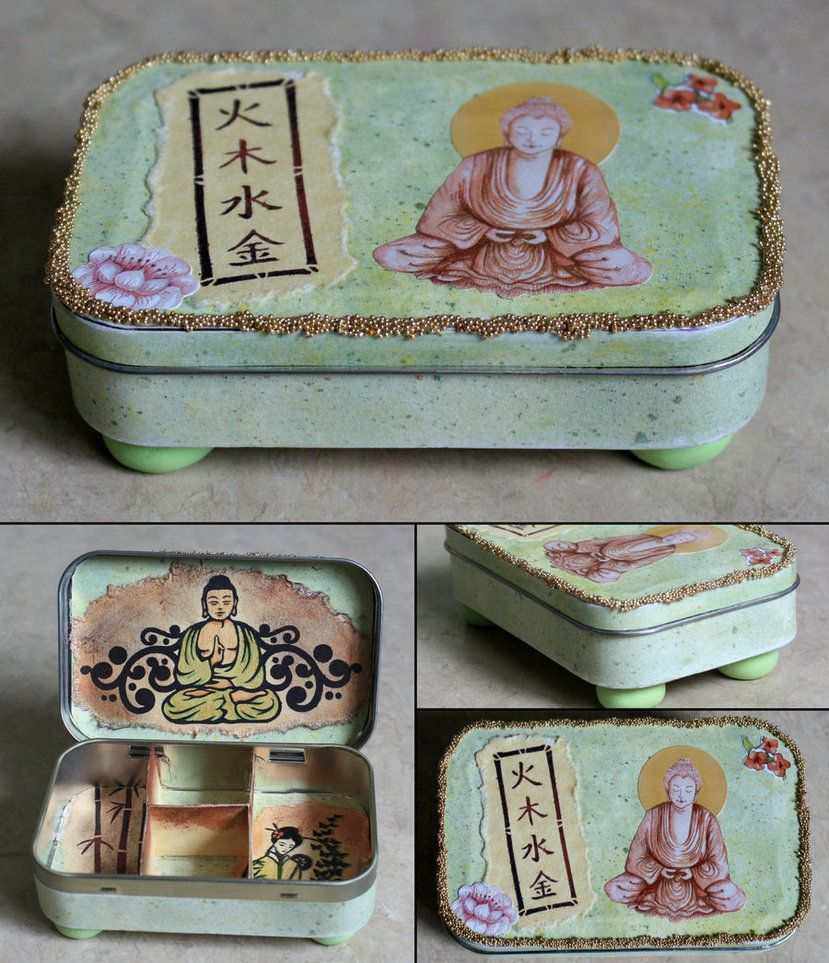 Asian Decorated Altoids Tin Go To Www Likegossip Com To Get More