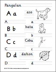 Alpabetong Filipino Handwriting Worksheets Handwriting Worksheets Alphabet Writing Worksheets Worksheets
