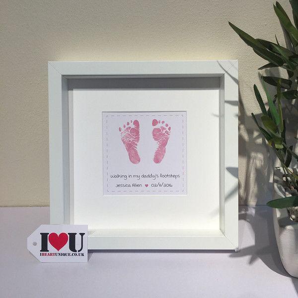 Personalised Baby Feet Framed Print   Personalised Gift Frames ...