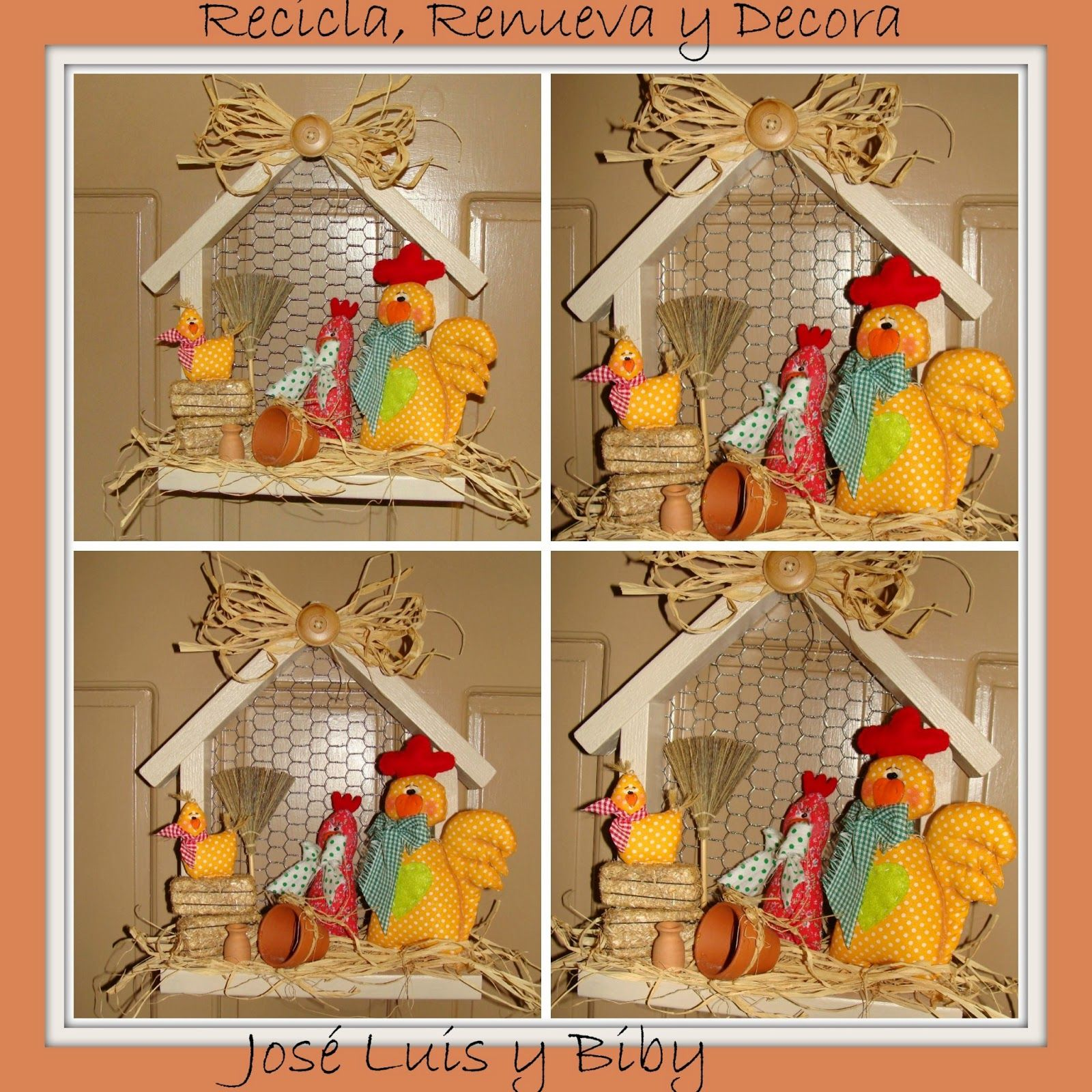 Recicla renueva y decora con jos luis y biby adorno - Recicla y decora ...