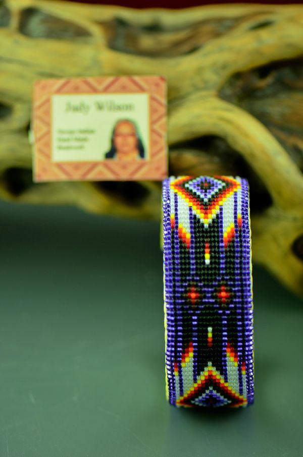 navajo bead designs. Authentic Bead Work Bracelets Such As Navajo Beaded Feather By Judy Wilson, Lynette Gossett And Theresa Hunt. Designs V