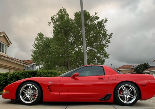 2002 Torch Red Chevy Corvette Coupe Corvette For Sale Chevy