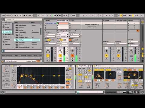 Ableton Live Tutorial Sound Design Drone Pad No Blablabla Ableton Ableton Live Sound Design