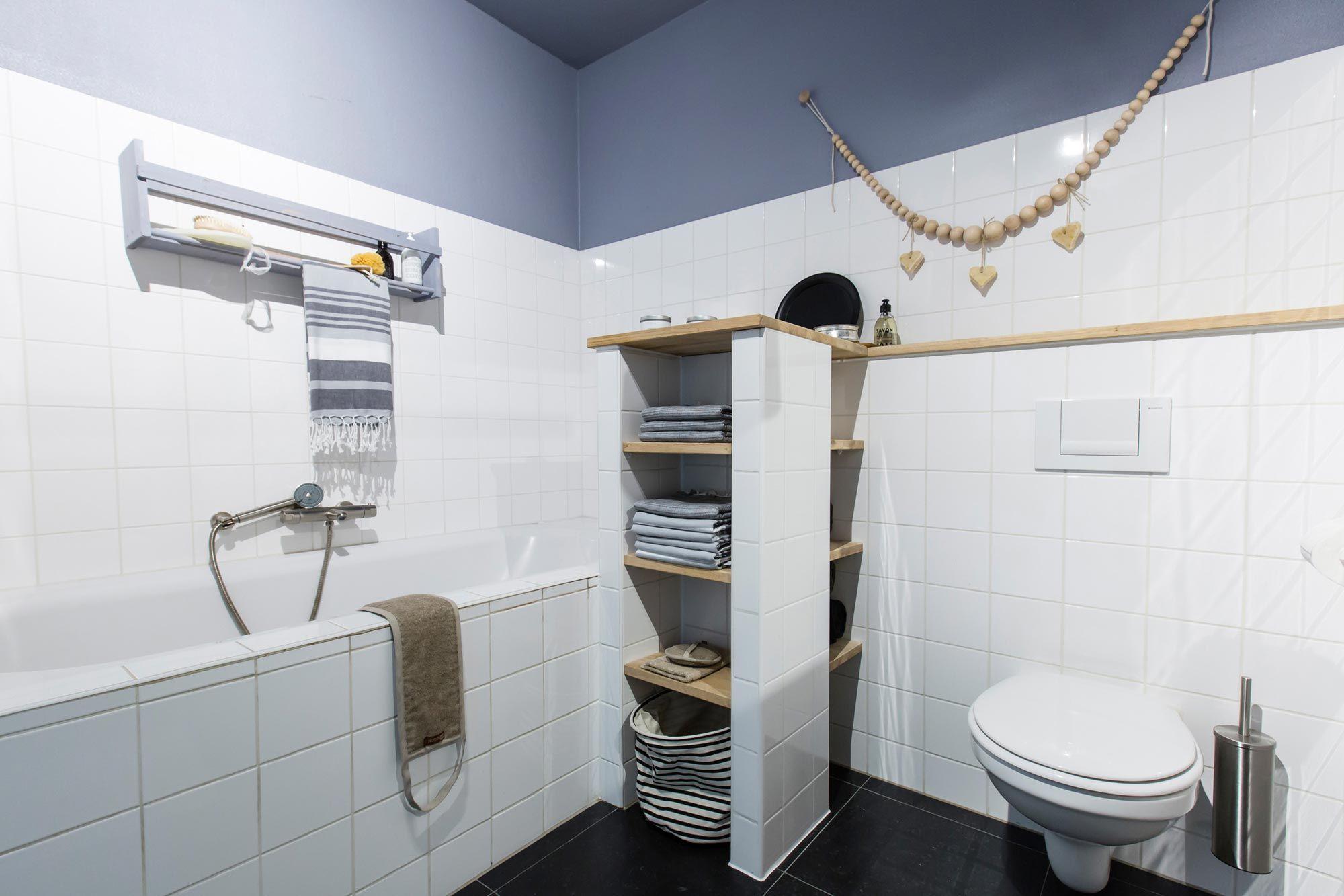 De nieuwe rustgevende badkamer van Michiel en Elke in aflevering 8 ...