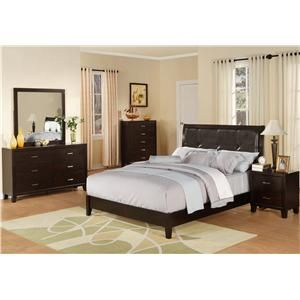 Marlo Furniture Bedroom Sets Captivating Lifestyle 9182 Queen Leather Panel Bed  Marlo Furniture Design Ideas