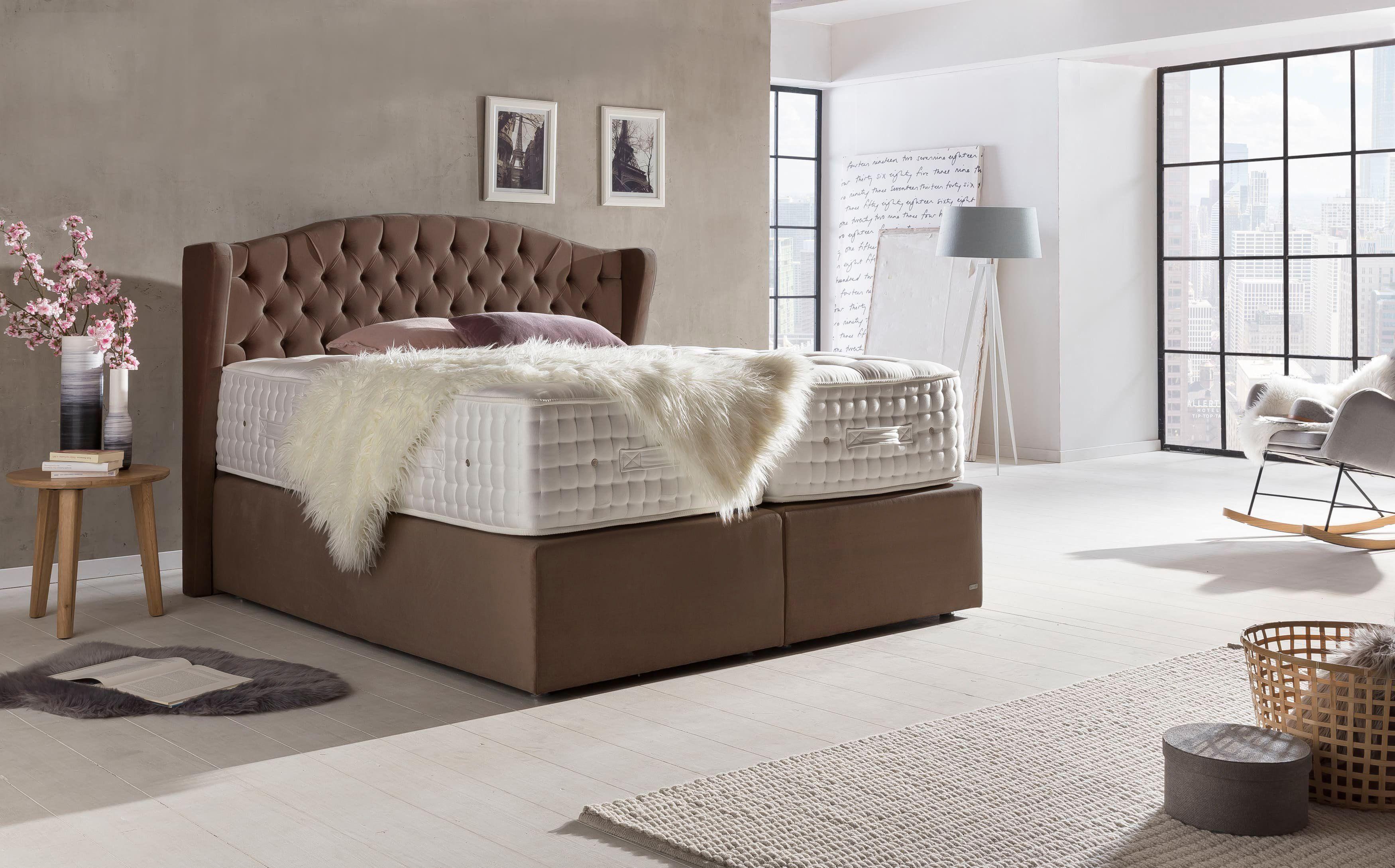 Unser Bett Majestat V Ab 2695 Home Decor Luxus Boxspringbetten