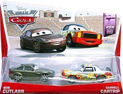 World of Cars 2014 - #02/08 - Bob Cutlass & #03/08 - Darrell Cartrip - Movie Moments - RSN