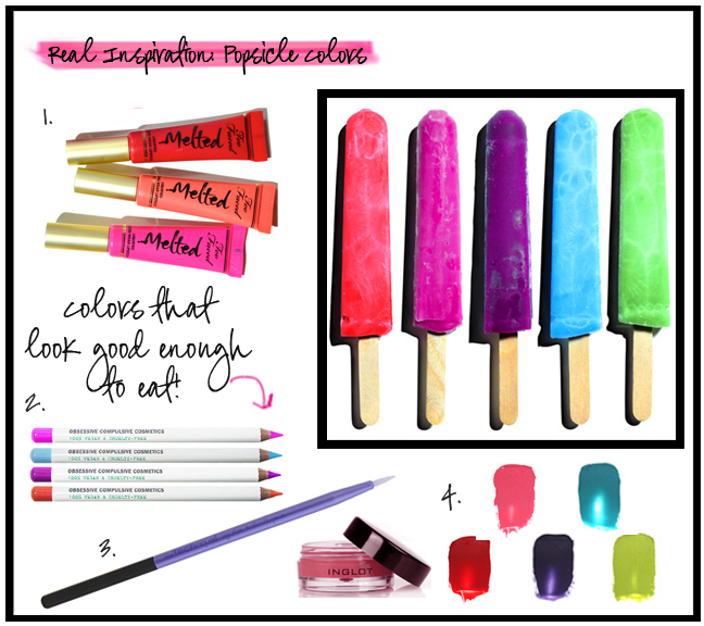 Vibrant Color Pops To Try With Your Summer Makeup Makeup Sponge Makeup Makeup Brushes