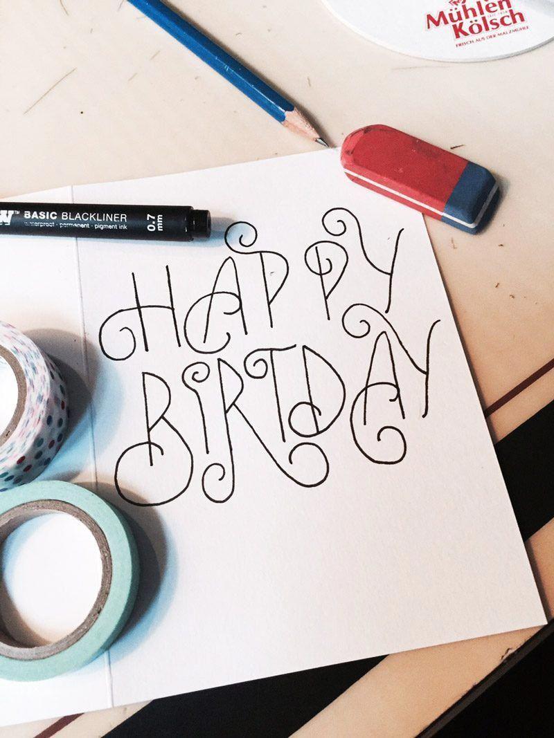 Create your own creative birthday card! ideas homemade