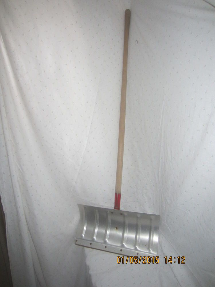 Ames Snow Shovel Vintage Aluminum Antique Tool Board Antique