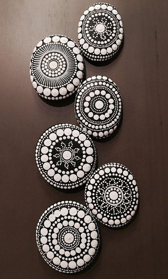 mandala stone ~ made to order
