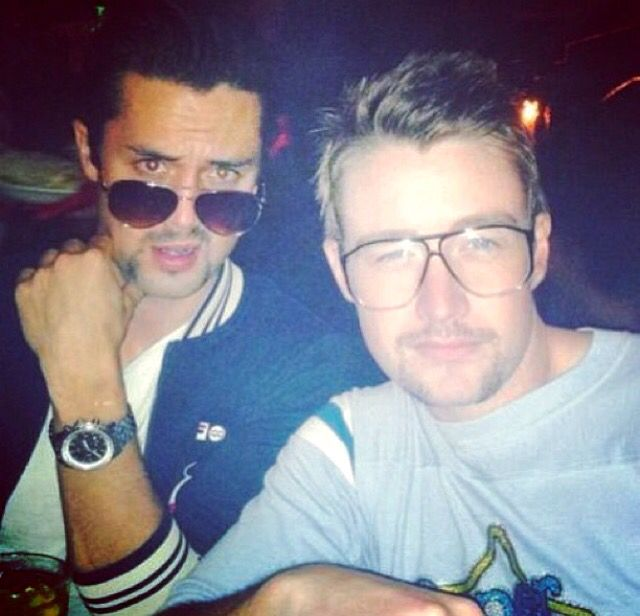 Stephen Colletti and Robert Buckley