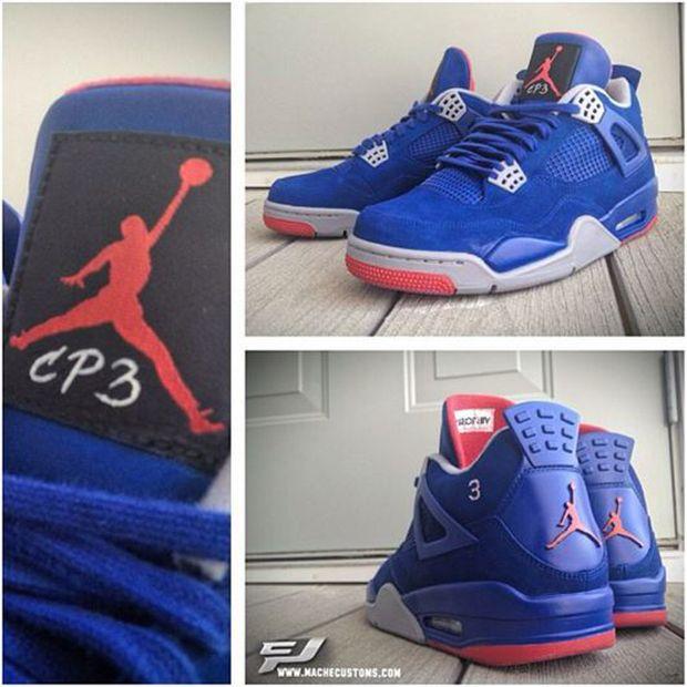 """Air Jordan 4 """"CP3″ Custom Sneakers Ⓙ ⍣∙₩ѧŁҝ!₦ǥ…  5aa826d273d3"""