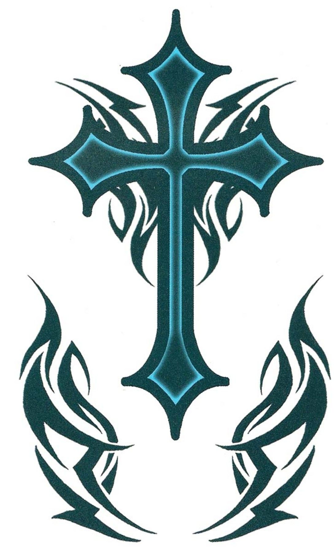 Cross tattoos for men - Gothic Cross Tattoos For Men 2 Pictures Photos Images