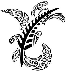 Calligraphie Maorie maori feather | tattoos | pinterest | tatouages et déco