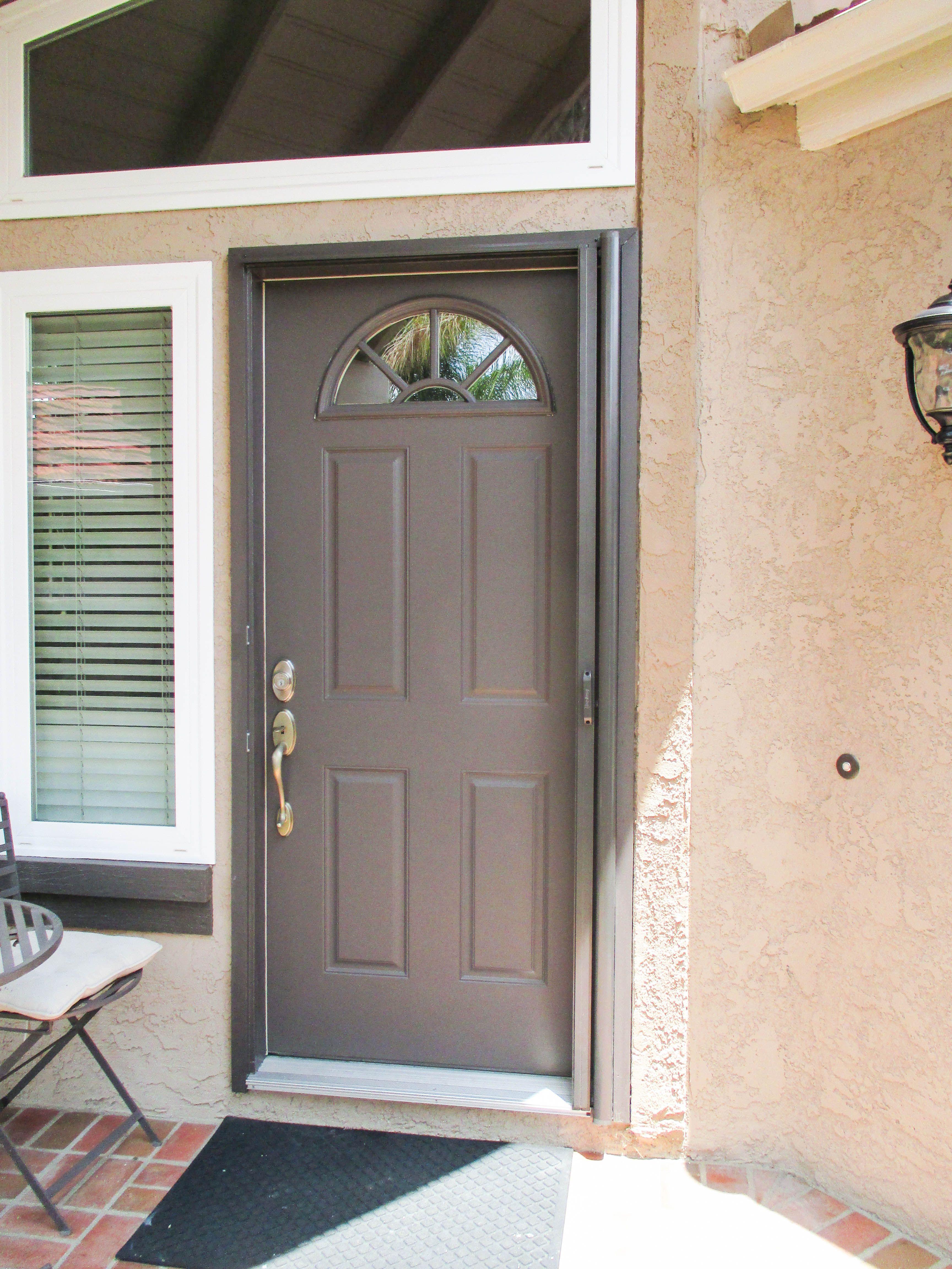 Check Out This Single Front Door Stowaway Retractable Screen Door