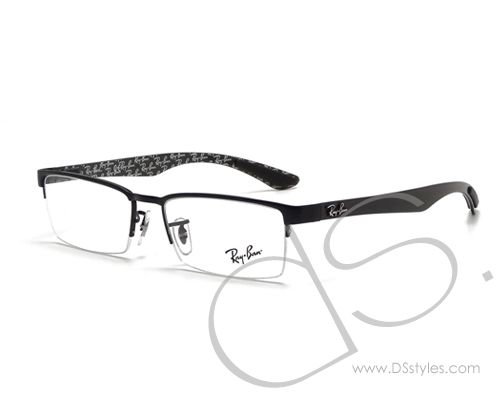 f1c0bb092a ... authentic ray ban rx8412 2509 optical eyeglasses black dsstyles. e785a  a9c61