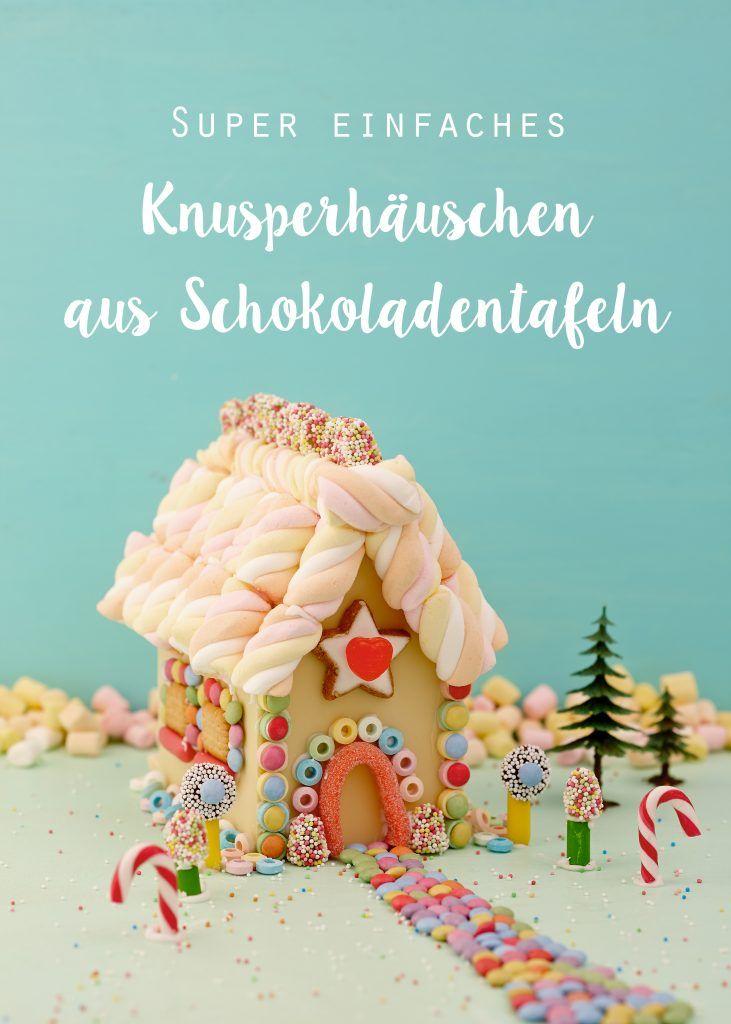 Buntes Knusperhaus ohne Backen – Wundertütchen   food :)   Pinterest ...