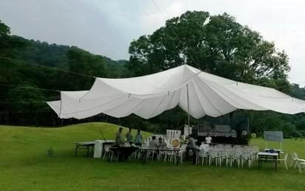 26 White Parachute Canopy Perfect For Weddings Party Dance