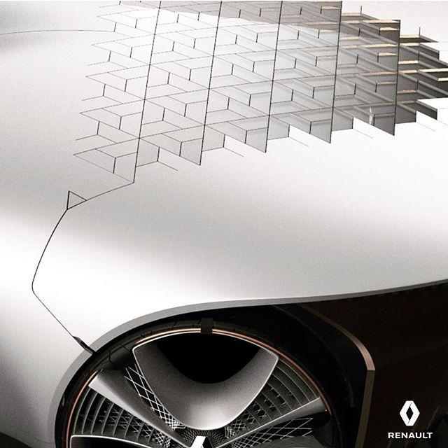 "haawon no Instagram: ""New thing #renault #detail #automotivedesign #carbodydesign #transportationdesign #vehicledesign #cardesign #maya #3dmodeling"""