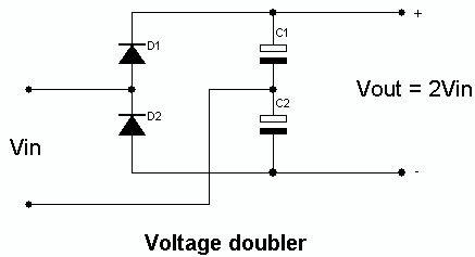 Voltage doubler circuit   Alternative energy in 2019   Electronics