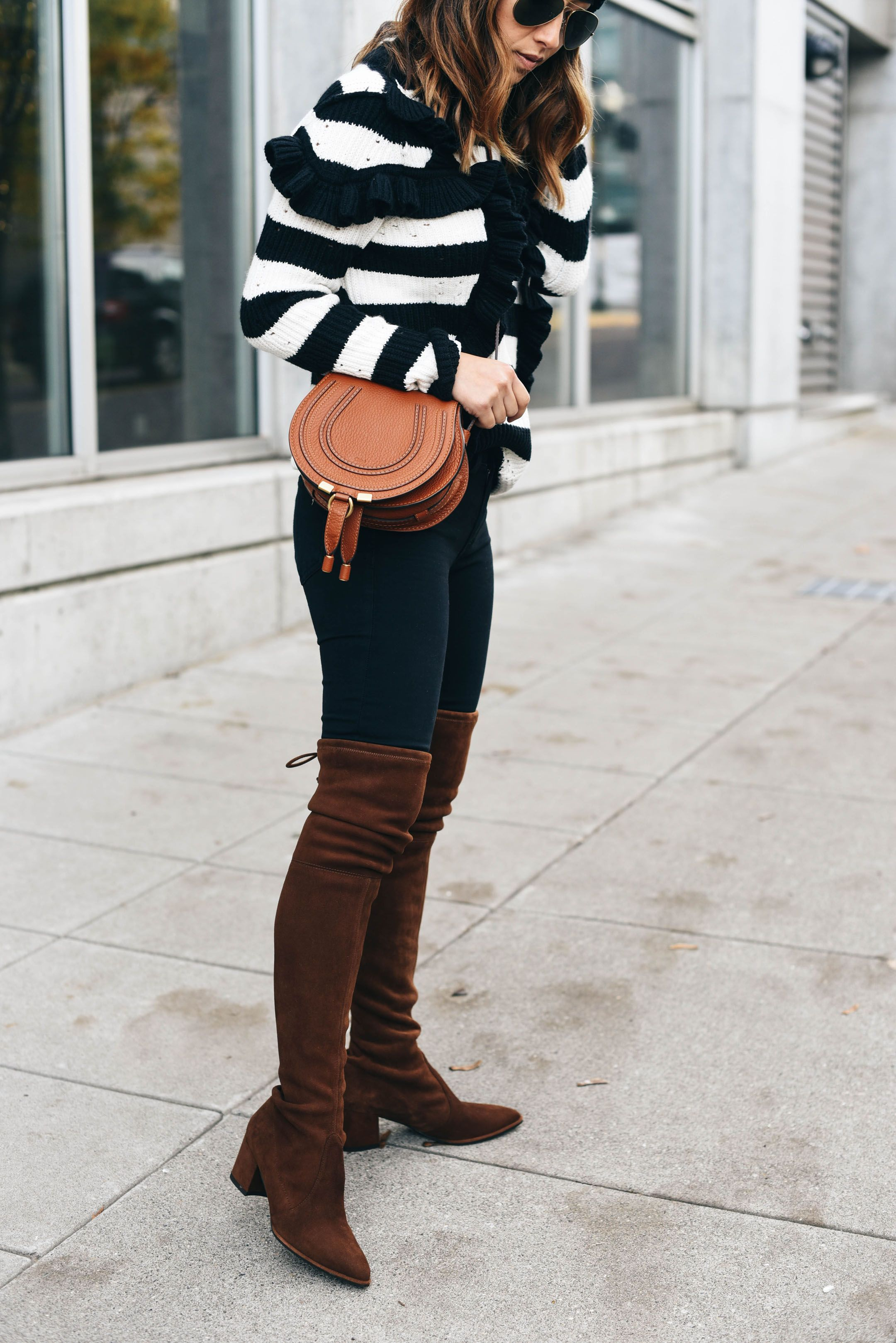 stuart weitzman thighland boots boot overknee brown. Black Bedroom Furniture Sets. Home Design Ideas