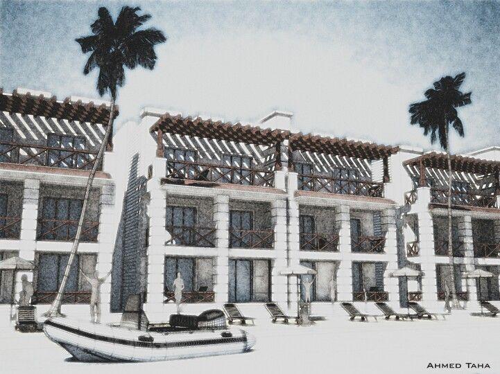 Wonderful Hilton AL Jubail Resort / Chalet Designu0027 KSA