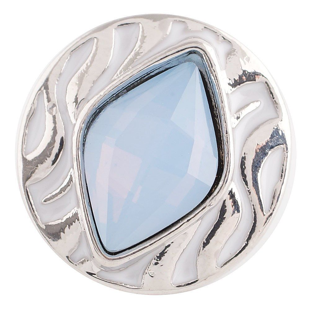 Water Ripple Snap Button ~ Opalite #waterripples