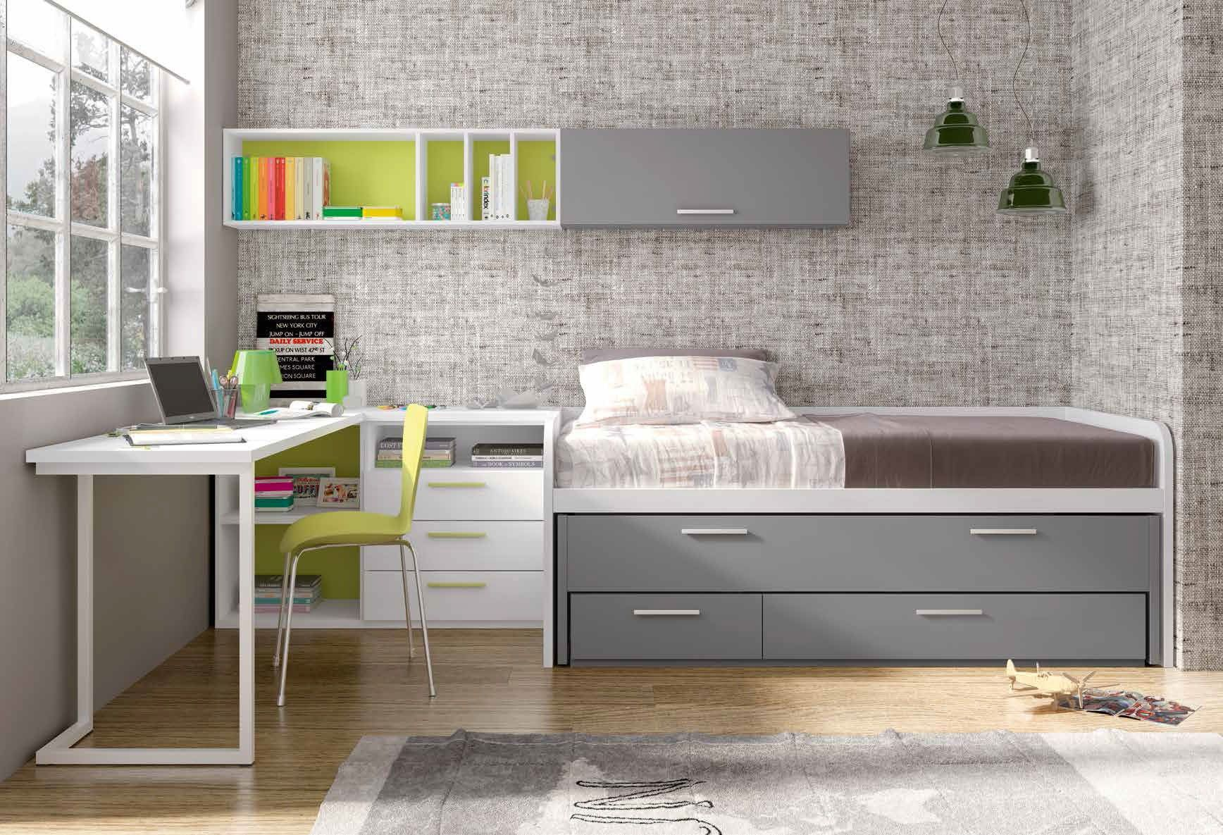 Habitaci N Juvenil Moderna Bronte En Mbar Muebles Habitaciones  # Muebles Para Cuartos