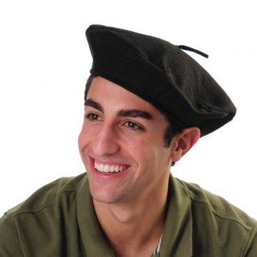 Black Beret - Costume Hats superstore  f85f55b2b53