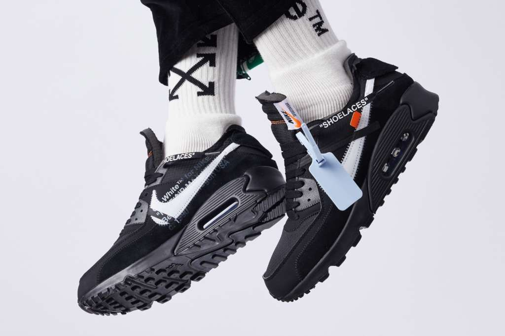 Off-White x Nike Air Max 90 in Two