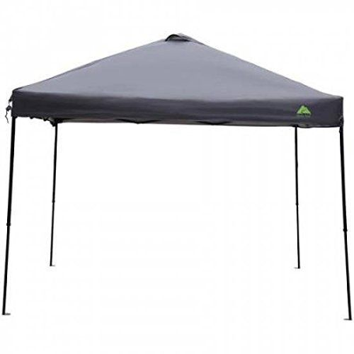 Ozark Pop Up Canopy Black Instant 10 X 10 Easy Adjustable Height Shade Canopy Gazebo Instant Canopy Shade Tent