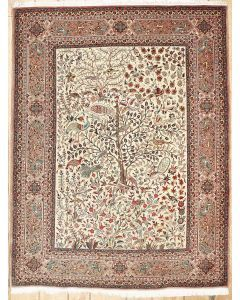 Semi-antique Persian Tabriz Area Rug 37215 - Area #rugs