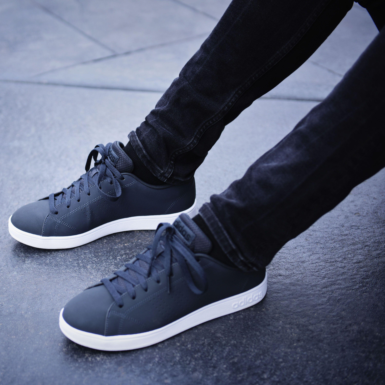 Adidas Shoe VS Advantage Clean Black, Men's Fashion