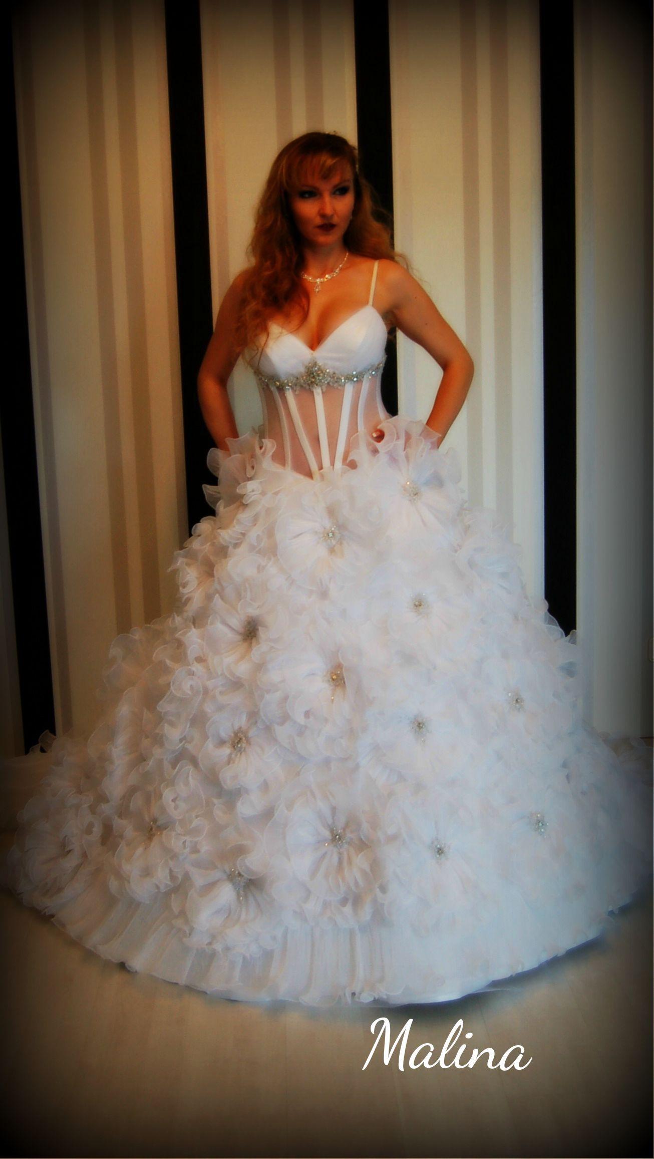 Brautmode Corsage