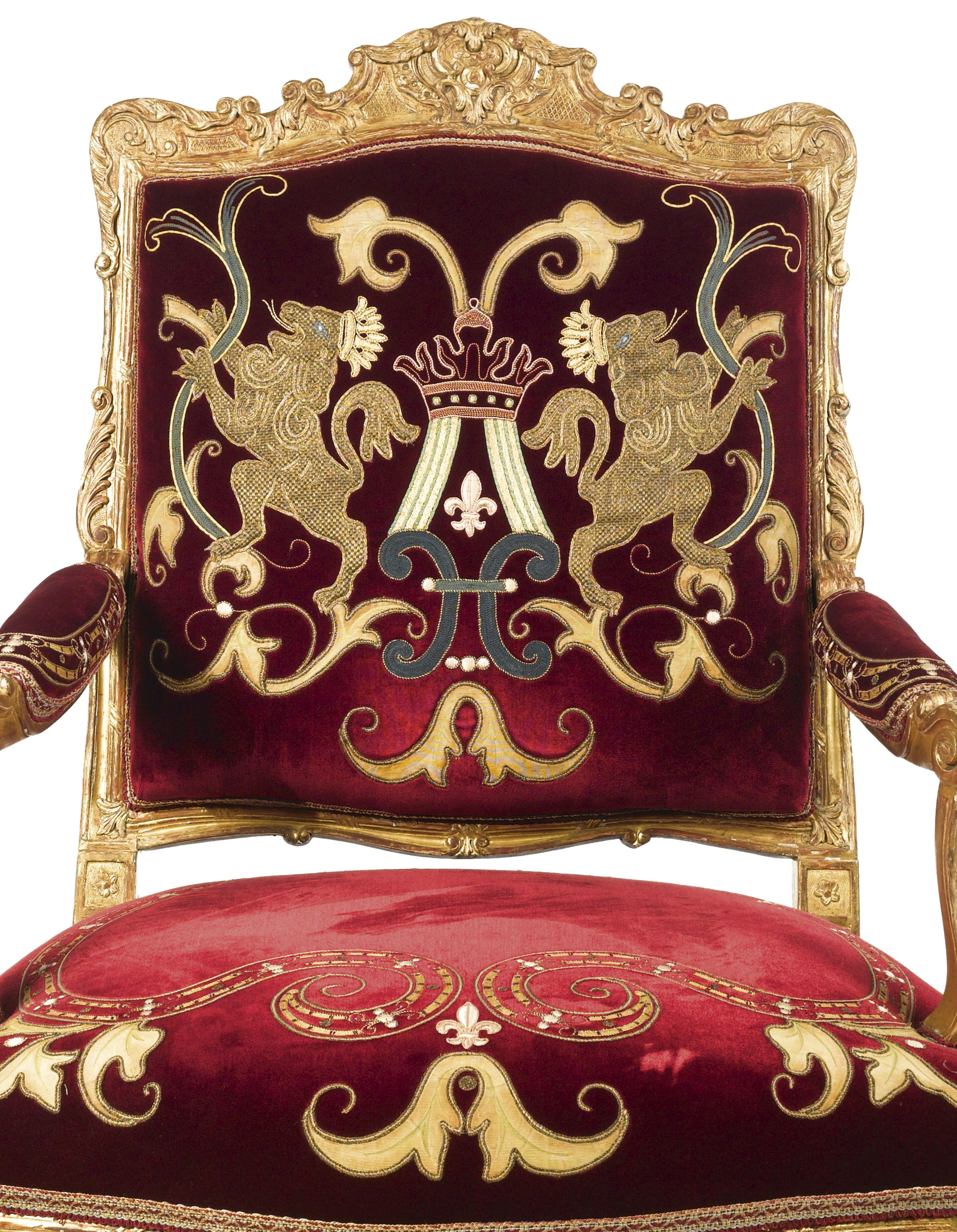 A Regence Carved Giltwood Fauteuil Br Circa 1715 Lot Sotheby S Armchair Chairs Armchairs Chair