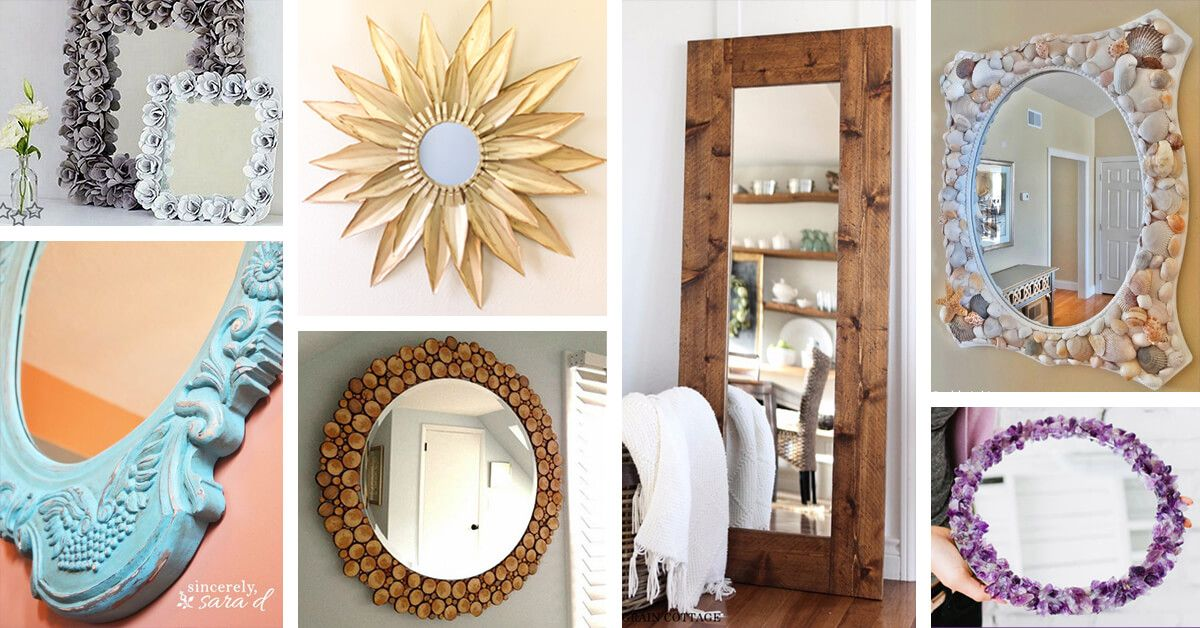 29 fancy diy mirror ideas that will look great in your